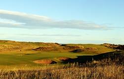 Βασιλικό γκολφ κλαμπ του Αμπερντήν, Balgownie, Αμπερντήν, Σκωτία στοκ εικόνα