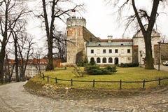 Βασιλικό κάστρο Casimir σε Przemysl Πολωνία στοκ εικόνες