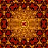Βασιλικό κόκκινο και χρυσό σχέδιο 008 Στοκ Εικόνες