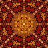 Βασιλικό κόκκινο και χρυσό σχέδιο 006 Στοκ εικόνα με δικαίωμα ελεύθερης χρήσης
