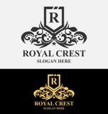 Βασιλικό λογότυπο CREST Στοκ φωτογραφίες με δικαίωμα ελεύθερης χρήσης
