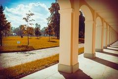 Βασιλικό πάρκο, Άγιος Πετρούπολη στοκ εικόνα
