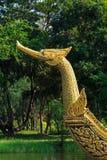 Βασιλικό παλάτι βασιλιάδων Suphannahong φορτηγίδων Στοκ Εικόνα