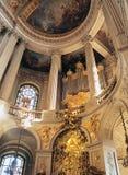 Βασιλικό παλάτι Γαλλία των Βερσαλλιών παρεκκλησιών Στοκ Φωτογραφία