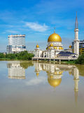 Βασιλικό πόλης μουσουλμανικό τέμενος Klang Στοκ φωτογραφία με δικαίωμα ελεύθερης χρήσης