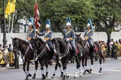 Βασιλικό ταϊλανδικό ιππικό Στοκ φωτογραφία με δικαίωμα ελεύθερης χρήσης