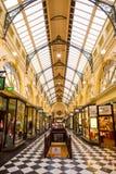 Βασιλικό Arcade Μελβούρνη Στοκ φωτογραφία με δικαίωμα ελεύθερης χρήσης