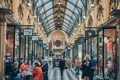 Βασιλικό Arcade στοκ φωτογραφία