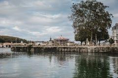 Βασκική πόλη Γαλλία Bayonne στοκ φωτογραφίες
