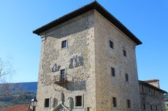 Βασκική χώρα Torre de Artziniega Στοκ Εικόνες