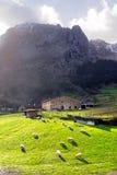 Βασκικό farmhouse χωρών Στοκ Εικόνα