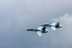 Αεριωθούμενος μαχητής Hornet Στοκ φωτογραφία με δικαίωμα ελεύθερης χρήσης
