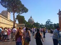Βατικανό - ένα ιερό μέρος, η καρδιά του χριστιανικού πολιτισμού και θρησκεία Στοκ φωτογραφίες με δικαίωμα ελεύθερης χρήσης
