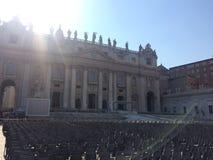 Βατικανό - ένα ιερό μέρος, η καρδιά του χριστιανικού πολιτισμού και θρησκεία Στοκ φωτογραφία με δικαίωμα ελεύθερης χρήσης