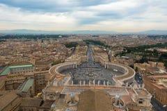 Βατικανό - καταπληκτική Ρώμη, Ιταλία Στοκ Εικόνα