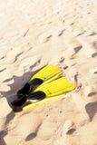Βατραχοπέδιλα και μια μάσκα στοκ φωτογραφίες με δικαίωμα ελεύθερης χρήσης