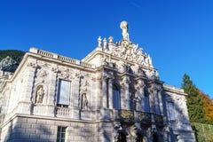 Βαυαρία, Γερμανία - 15 Οκτωβρίου 2017: Παλάτι 1863-188 Linderhof Στοκ Εικόνες