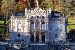 Βαυαρία, Γερμανία - 15 Οκτωβρίου 2017: Παλάτι 1863-188 Linderhof Στοκ φωτογραφίες με δικαίωμα ελεύθερης χρήσης