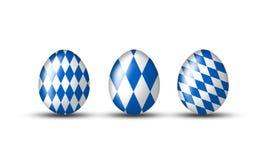 βαυαρικά αυγά Στοκ Εικόνες