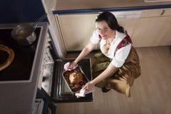 Βαυαρική γυναίκα στοκ εικόνες