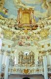 βαυαρική εκκλησία Στοκ εικόνα με δικαίωμα ελεύθερης χρήσης