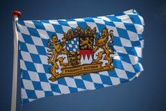 βαυαρική σημαία Στοκ φωτογραφίες με δικαίωμα ελεύθερης χρήσης