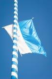 Βαυαρική σημαία Στοκ Φωτογραφίες