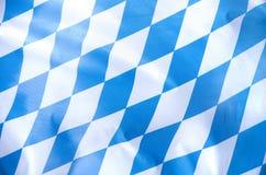 Βαυαρική σημαία στοκ εικόνα