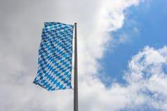 Βαυαρική σημαία Στοκ Φωτογραφία