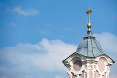 Βαυαρικός κώνος εκκλησιών Στοκ Εικόνα