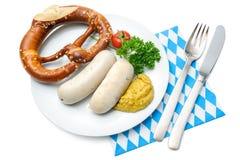 Βαυαρικό γεύμα Στοκ φωτογραφία με δικαίωμα ελεύθερης χρήσης