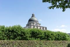 Βαυαρικό κτήριο κρατικών καγκελεριών στο Μόναχο Στοκ Φωτογραφίες