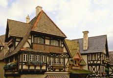 βαυαρικό σπίτι στοκ εικόνα