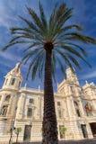 Βαλένθια Ισπανία | Δημαρχείο Στοκ Εικόνες