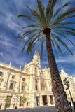 Βαλένθια Ισπανία | Δημαρχείο Στοκ Φωτογραφία