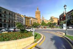 Βαλένθια Ισπανία | Plaza del Reina Στοκ φωτογραφία με δικαίωμα ελεύθερης χρήσης