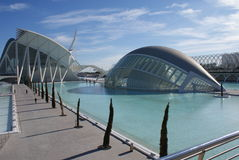 Βαλένθια Ciudad de las Artes Υ las Ciencias - Hemisferic Στοκ Εικόνες
