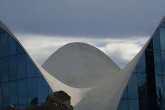 Βαλένθια Ciudad de las Artes Υ las Ciencias - L'Oceanografic Στοκ φωτογραφία με δικαίωμα ελεύθερης χρήσης