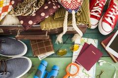 Βαλίτσα διακοπών Στοκ Εικόνες