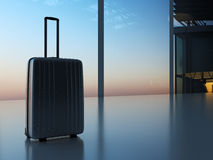 Βαλίτσα στον αερολιμένα Στοκ Εικόνες