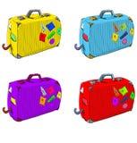 Βαλίτσες ταξιδιών Στοκ Εικόνα