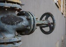 Βαλβίδα αερίου Στοκ φωτογραφία με δικαίωμα ελεύθερης χρήσης