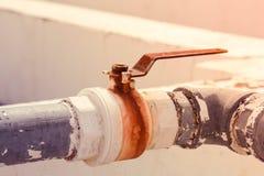 Βαλβίδα νερού Στοκ Φωτογραφία