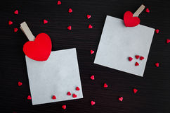 βαλεντίνοι καρδιών ημέρας ανασκόπησης Στοκ φωτογραφία με δικαίωμα ελεύθερης χρήσης