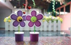 Βαλεντίνος αγάπης λουλουδιών Στοκ Εικόνες