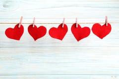 βαλεντίνος αγάπης s απεικόνισης καρδιών ημέρας Στοκ Εικόνα