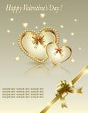 βαλεντίνος μορφής αγάπης καρδιών καρτών Στοκ εικόνα με δικαίωμα ελεύθερης χρήσης