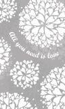 βαλεντίνος μορφής αγάπης καρδιών καρτών Στοκ Εικόνα