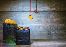 βαλεντίνος δώρων s ημέρας Στοκ εικόνες με δικαίωμα ελεύθερης χρήσης