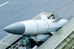 Βαλλιστικός πύραυλος σύνθετος Στοκ Φωτογραφίες